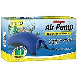 Tetra 77855 Whisper Air Pump, 100-Gallon