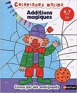 Coloriage Magique Cp Janvier.Coloriages Malins Additions Magiques Cp Amazon Fr Isabelle Petit