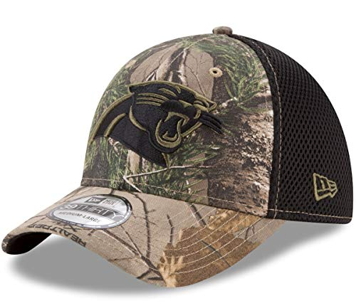 New Era Carolina Panthers NFL 39THIRTY Realtree Neo Flex Fit Camo Hat