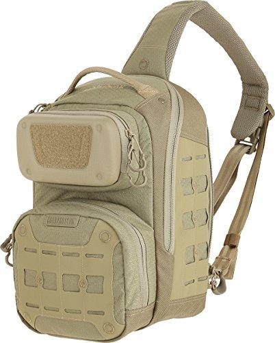 Maxpedition edgepeak Sling Pack Sac à dos de randonnée, 38cm, 15litres, Marron clair