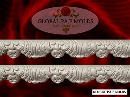 Handmade Silicone Mold /1 Piece Cake Decoration Mould/ Vintage Trims Mold 653944