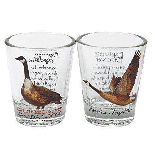 (Canada Goose Shot Glass Set)