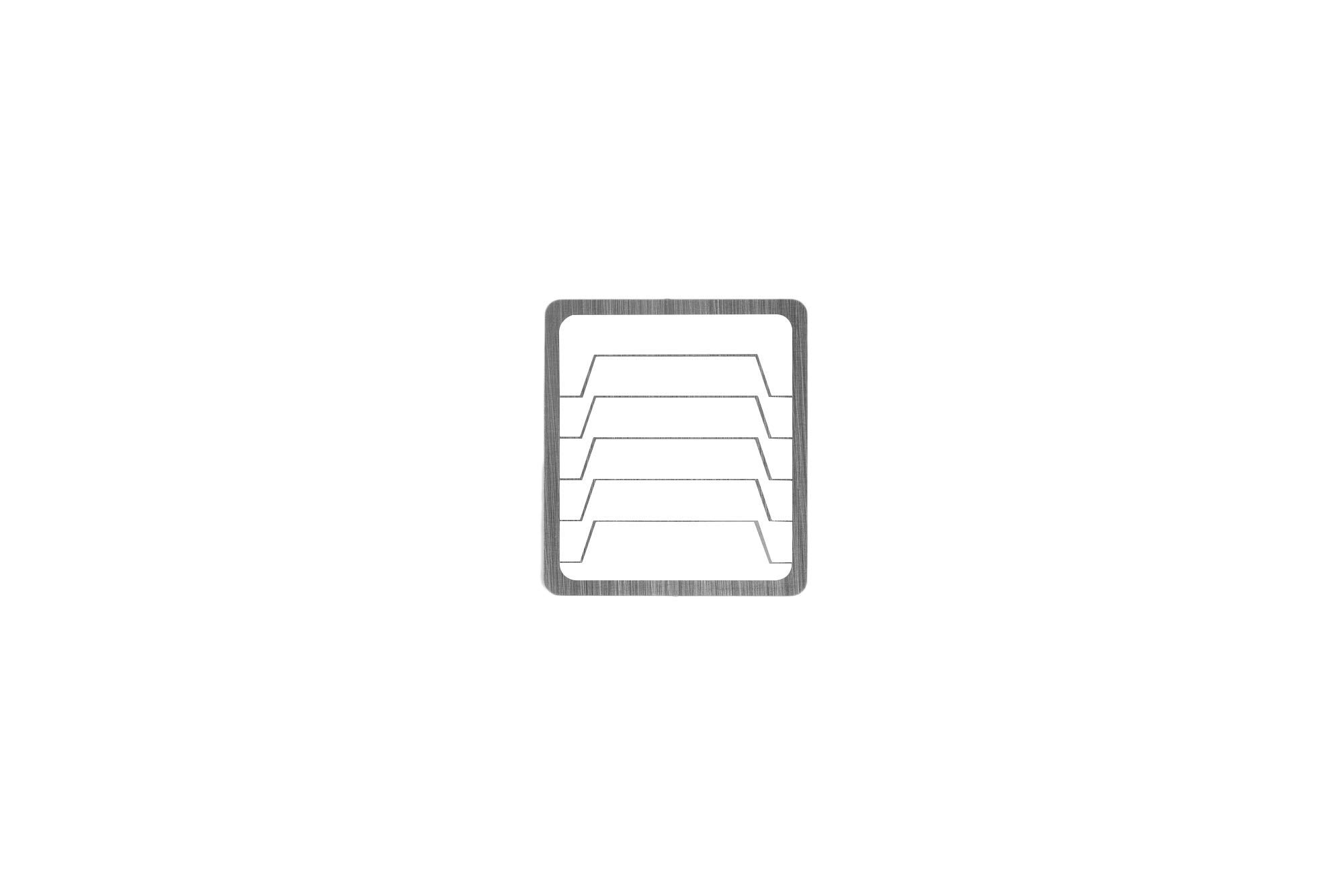 Mazzer Anti-static Doser Screen(2ea), Linear shape