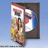 100 Pc Black Nexpak Benefit Denial Full Sleeve Locking DVD Case 5 3/8''W x7 1/2''H