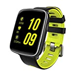 GBB GV68 Waterproof Sport Smart Watch Phone Mate Touch Screen Bluetooth iOS Android Phone, Green