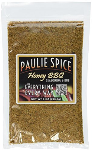 - Paulie Spice : Sweet Honey BBQ Gourmet Seasoning and Rub For: Meat, Ribs, Rib, Chicken, Pork, Steak, Wings, Turkey, Prime Rib, Fish, Seafood, Grill, Grilling, Barbecue, Smoker, Dry, Rubs, Seasonings