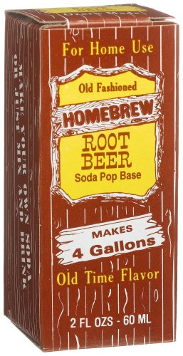 Homebrew Root Beer Pop Concentrated Extract, 2-Ounce Boxes (Pack of 3)