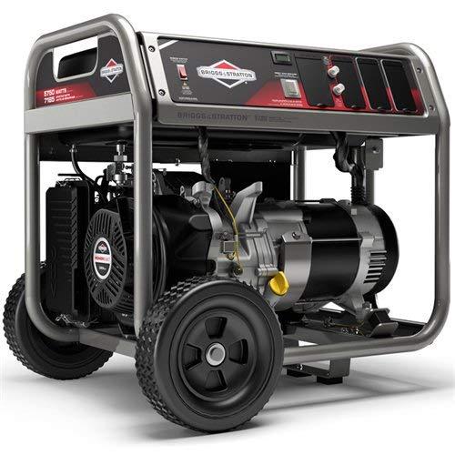 Briggs & Stratton 30708 5750w Generator, Portable, Gas Powered, Black Uncategorized