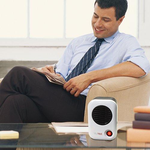 Lasko 101 My Heat Personal Heater, White by Lasko (Image #2)