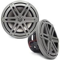 MX770-CCX-SG-TB - JL Audio 7.7 2-Way Marine Cockpit Coaxial MX Series Speakers (Titanium)