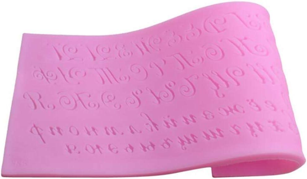 UINKE - Molde de silicona con diseño ruso de letras del ...