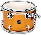 DW Performance Series Mounted Tom - 9'' x 13'' Gold Sparkle Finish Ply