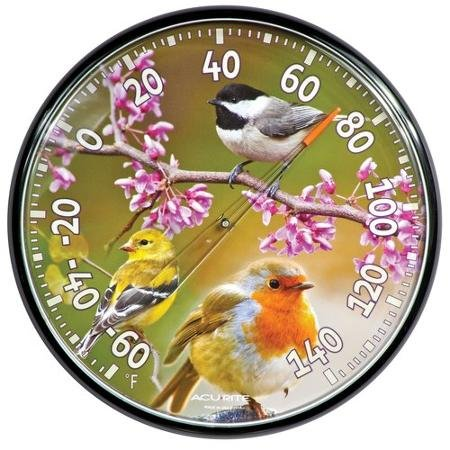AcuRite 12.5'' Songbirds Thermometer by AcuRite