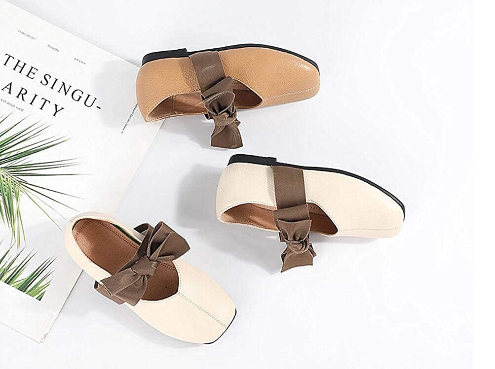 Girl Mary Jane Shoes Flat Shoes Walking Shoes Baby Toddler Shoes Brown 34//2.5 M US Boys Girls