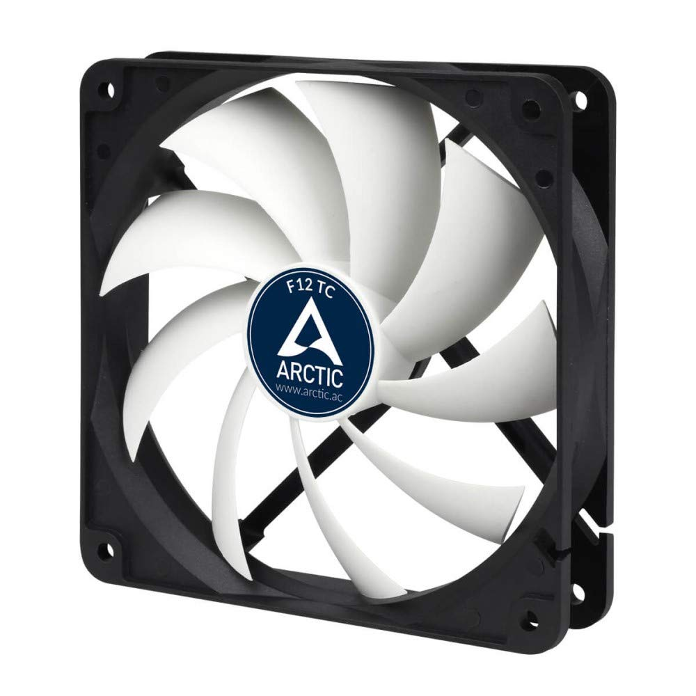 ARCTIC F12 TC - 120 mm Standard Low Noise Temperature Controlled Case Fan