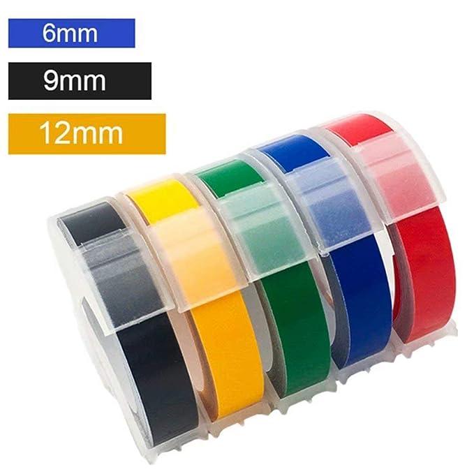 Cidylabel Impresora Manual de 5 Piezas MixColor 3D en Relieve de ...