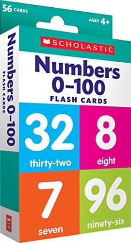 Flash Cards Numbers 0