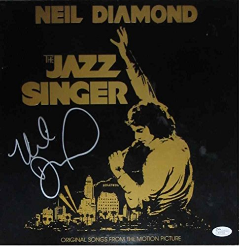 Neil Diamond Jazz Singer Signed Record Album LP Certified Authentic JSA COA