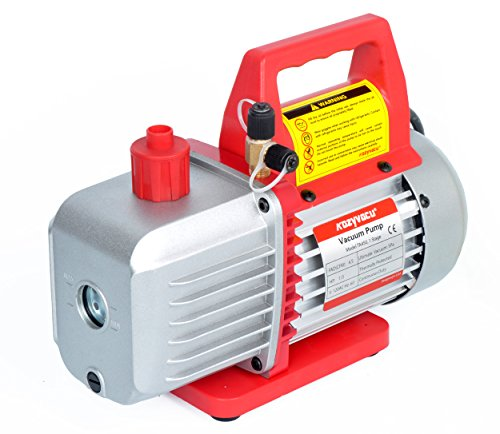 4.5CFM Single-Stage Rotary Vane Vacuum Pump (4.5CFM, 150 Miron, 1/3HP, 1/4