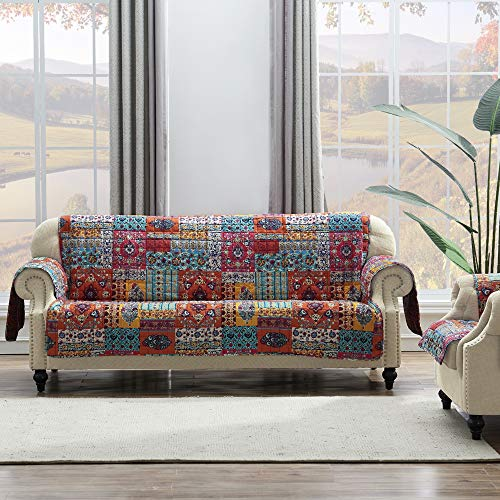 Barefoot Bungalow Indie Slipcover, Sofa, Spice ()