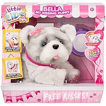 Amazon Com Bella My Kissing Puppy Dog Interactive Little