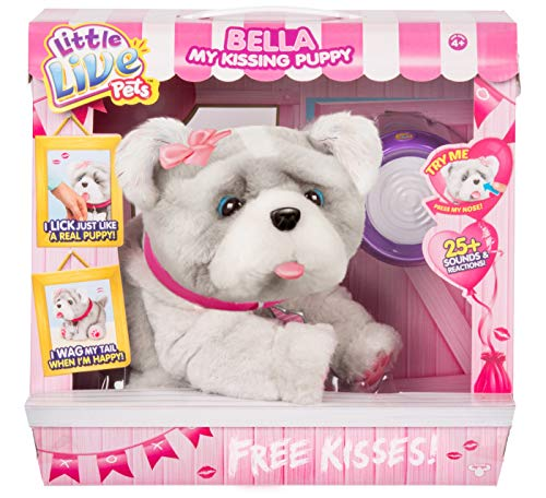 - Bella My Kissing Puppy Dog Interactive Little Live Pet Exclusive