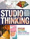 Studio Thinking: The Real Benefits of Visual Arts Education ( Paperback ) by Hetland, Lois; Winner, Ellen; Veenema, Shirley; Sheridan, Ki published by Teachers College Press