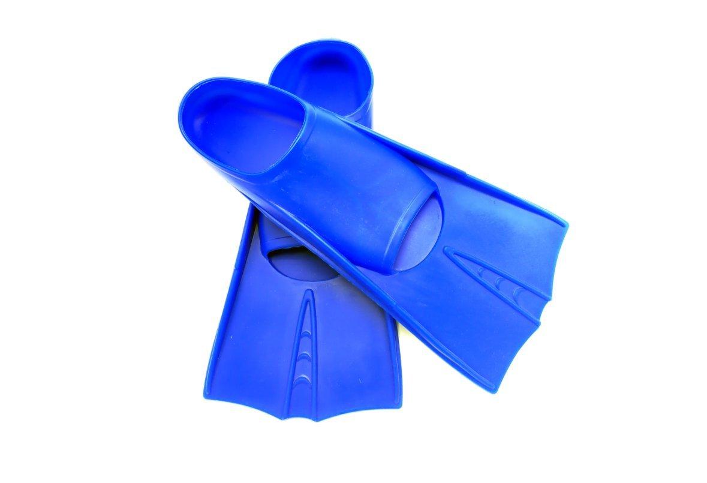 ZYQY Swim Fins Silicone Snorkel Diving Pinne Formazione professionale Pinne Scarpe da immersione flessibili Xs-Xxl, Blu, L