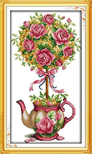 Joy Sunday Cross Stitch Kits,Still Life Style,The Bouquet an