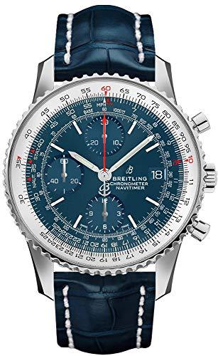 Breitling Navitimer 1 Chronograph 41 Blue Dial Men's Watch A1332412/CA02-731P Breitling Navitimer Slide Rule
