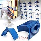 yfairy pájaro jaula Puerta – Palomas Puerta Barrera Libre Entrada Paloma Pájaro jaula de accesorios plástico requisitos Productos: Amazon.es: Hogar