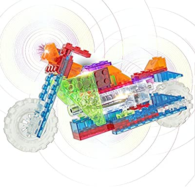 Laser Pegs 8 in 1 Chopper Building Kit: Toys & Games