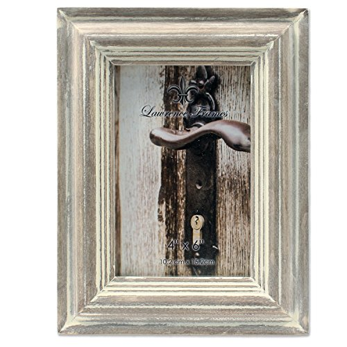 4x6 Washed Gray Picture Frame