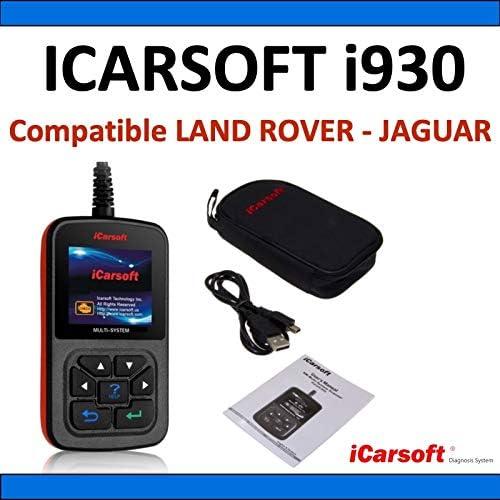 Interface de Diagnostic iCarsoft i930 Compatible avec v/éhicules Land Rover et Jaguar Diagnostic Tous Syst/èmes