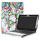Alapmk Protective Case Cover For 11.6' HP Chromebook 11 G5 EE/G4/G3/G2/G4 EE/11-2000 Series Laptop(Warning:Not fit HP Chromebook 11 G6 EE/G5/G1/11-v000/11-1100 Series),Love Tree