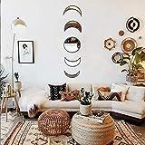 5 Pieces Scandinavian Natural Decor Acrylic Wall