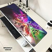 Nueva llegada 80 * 30 cm Mouse pad Avengers Infinity War anime Juegos XL Grande Grande mouse pad gamer Teclado Mat Thanos Iron Man