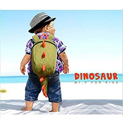 Dinosauro perso Bambino Qzbaoshu Per Imbracatura Di Sicurezza Zaini Borse Pacchetto Ragazze Dei Giallo Anti Ragazzi Bambini ZZRExqA