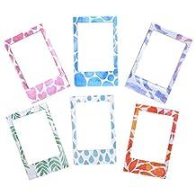 Polaroid 6 Designer Magnetic Picture Frames For 2x3 Photo Paper (Snap, Zip, Z2300)