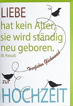 Karte Hochzeit Schrift Amazon De Burobedarf Schreibwaren