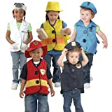Constructive Playthings JOL-5 Toddler Dress-Up Vests & Hats - Costume Accessories