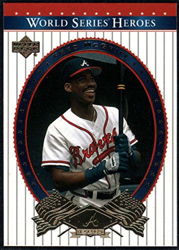Baseball MLB 2002 Upper Deck World Series Heroes #17 Fred McGriff NM-MT Braves
