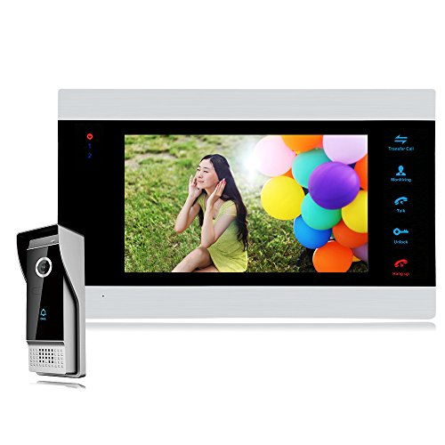 【Promotion】Bcomtech 7 Inch Intercom Door Station with Door Release Door Bell Camera Door Phone...