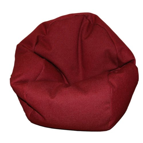 Toy Denim Bag (Ahh! Products Denim Brick Red Bean Bag Chair for Dolls)