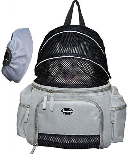 Dog Backpack Carrier Front Bag for Small Pet Cat Up to 12lbs Travel by BINGPET