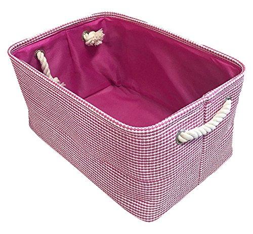 Homesource Dar002hb013aa Fabric Basket 9 X 7
