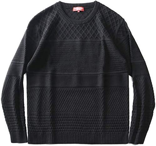 SARTORIA BELLINI 日本製 ウールブレンド 網み柄 ボーダー セーター made in japan 92102601 大きいサイズ メンズ 3L 4L 5L