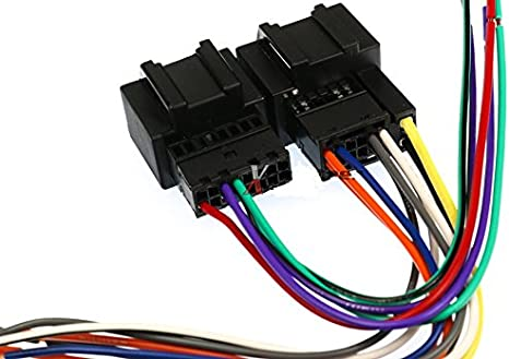 Amazon.com: Scosche GM18B Wire Harness to Connect an Aftermarket ... 2009 chevy hhr radio wiring harness Amazon.com