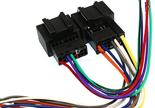 51oPGMPV ML amazon com scosche gm18b wire harness to connect an aftermarket Car Stereo Wiring Colors at bayanpartner.co