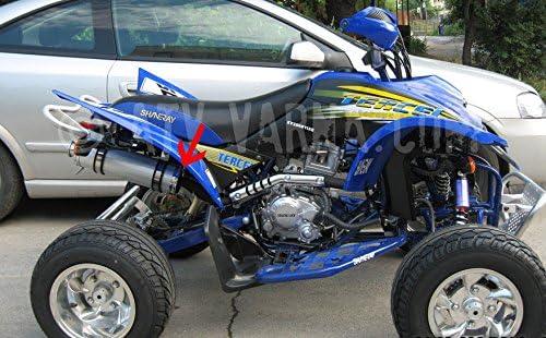 Dichtung Kr/ümmer Auspuff Endtopf Shineray 250 STIXE 9E Spyder Quad ATV Exhaust